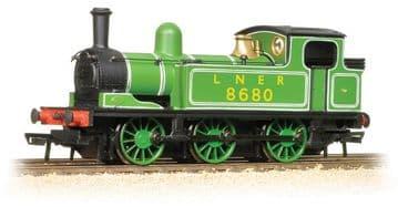 372-825 LNER J72 Class 8680 LNER Lined Green Pre Order £TBA