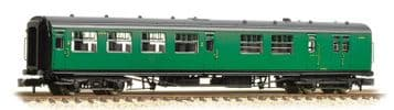 374-432A Bulleid 63ft Brake Third Corridor Open BR (SR) Malachite Green ##Out Of Stock##