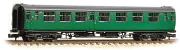 374-462 Bulleid 63ft Composite Corridor BR (SR) Malachite Green ##Out Of Stock##