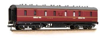 374-889 50ft Ex-LMS Parcel Van BR Maroon
