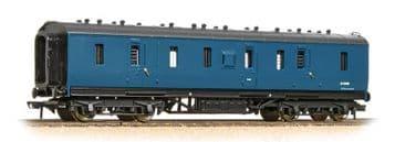 374-890 50ft Ex-LMS Parcels Van BR Blue - Weathered