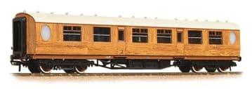376-225 Thompson Composite Corridor LNER Teak Pre Order £35.75