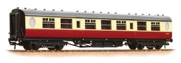 376-251 Thompson 3rd Class Corridor BR Crimson & Cream Pre Order £35.75
