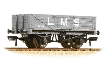 377-064 5 Plank Wagon Wooden Floor LMS with Load ##Out Of Stock##
