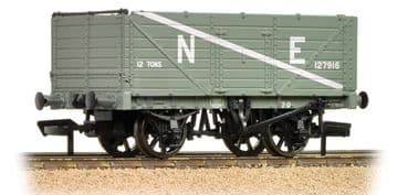 377-090 7 Plank Wagon End Door NE Grey