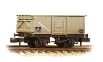 377-255 16 Ton MCO Steel Mineral Wagon BR Grey Weathered Pre Order £16.15