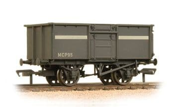 377-256 16 Ton Steel Mineral Wagon NCB Grey Weathered ##Out Of Stock##