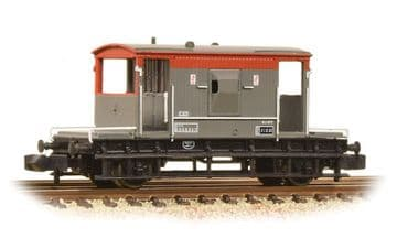 377-535A 20 Ton Brake Van BR Railfreight  ##Out Of Stock##