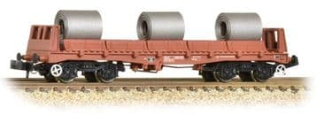 377-903 BAA Steel Carrier Wagon BR Brown with Coils ##Out Of Stock##