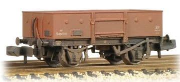 377-955 13 Ton High Sided Steel Wagon (Chain Pockets) BR Bauxite (Early) Weathered##out of stock##