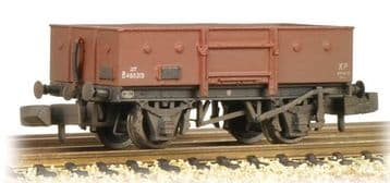 377-956 13 Ton High Sided Steel Wagon (Chain Pockets) BR Bauxite (Late) Weathered ##Out Of Stock##
