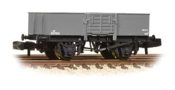 377-957 13 Ton High Sided Steel Wagon with Wooden Door BR Grey