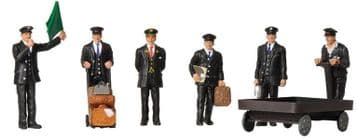 379-317 1940/50s Station Staff