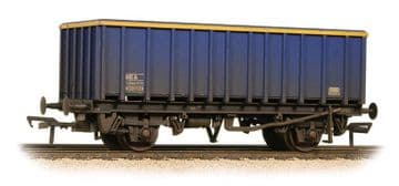 38-061A 45 Tonne glw MEA Open Box Wagon Mainline Blue - Weathered ##Out Of Stock##