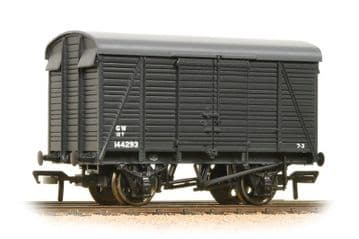 38-083A 12 Ton Southern 2+2 Planked Ventilated Van GWR Grey