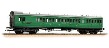 39-603 SECR 60' Birdcage Brake Composite Southern Railway Malachite Green