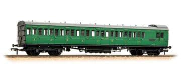 39-623 SECR 60' Birdcage Brake 3rd Southern Railway Malachite Green