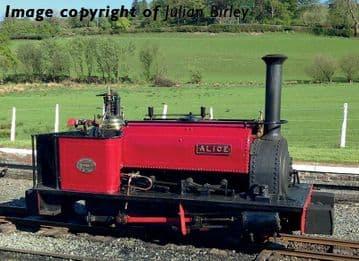 391-050 Quarry Hunslet 0-4-0 'Alice' Dinorwic Quarry Red Pre Order £TBA