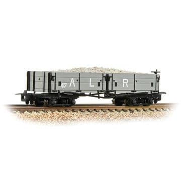 393-052A Open Bogie Wagon Ashover L. R. Grey [WL] ##Out Of Stock##