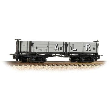 393-055 Open Bogie Wagon Ashover L. R. Grey  ##Out Of Stock##