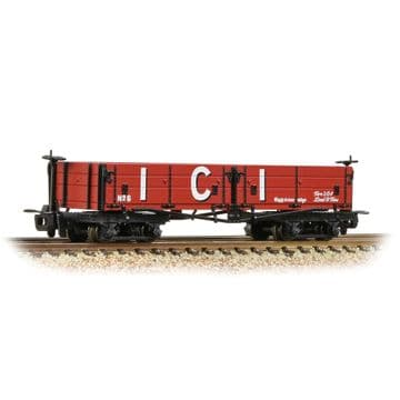393-056 Open Bogie Wagon 'ICI' Red