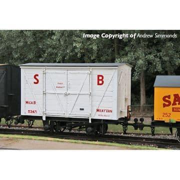 393-127 RNAD Van Statfold Barn Railway White 'MICA B' Pre Order £TBA