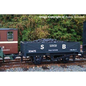 393-150 RNAD Rebuilt Open Wagon Statfold Barn Railway Grey Pre Order £TBA