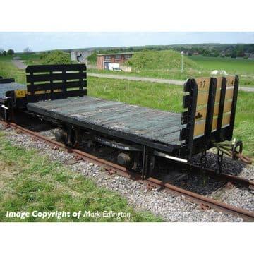 393-175 RNAD Open-End Brake Van Statfold Barn Railway Brown Pre Order £TBA (4)