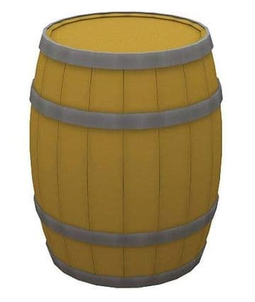 44-518 Wooden Barrels (x10) ##Out Of Stock##