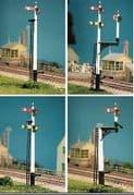 466 GWR Square Post (4 Signals inc. Jcn/brackets)