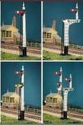 486 LNER Latticed Post (4 signals inc. Jcn/brackets)