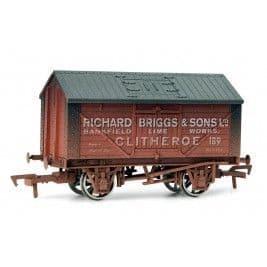 4F-017-006 LIME WAGON NO 189 RICHARD BRIGGS WEATHERED