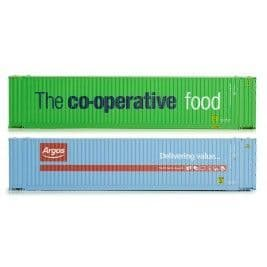 4F-028-002 45ft Hi Cube Container Argos/Co-Op (weathered)