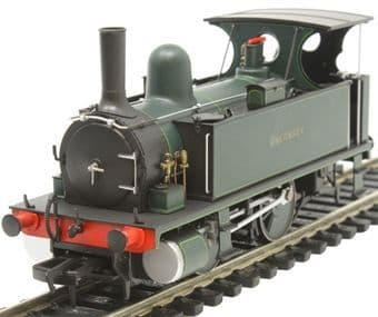 4S-018-007 B4 0-4-0-T Guernsey Lined Dark Green ##Out Of Stock##