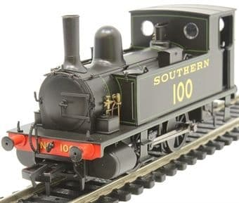 4S-018-008 B4 0-4-0-T Southern Black Lined Grn  ##Out Of Stock##