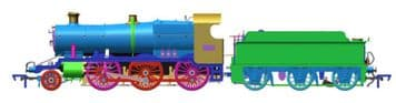 4S-043-006 GWR 2-6-0 7310 BR Lined Green Late ##Out Of Stock##