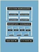 5049 Platform Signage