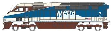 64562 EMD F59PHI Metra #90