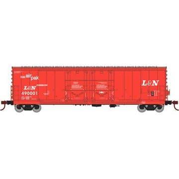 67714  50' Evans DD Plug Box, L&N #490001
