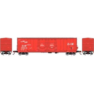 67716 50' Evans DD Plug Box, L&N #490010