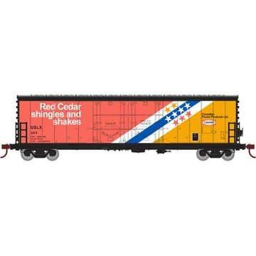 67718  50' Evans DD Plug Box, USLX CanFor #384