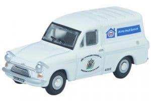 76ANG024 Ford Anglia Van Esso Service