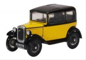 76ASS007 Austin Seven Yellow/Black  ##Out Of Stock##