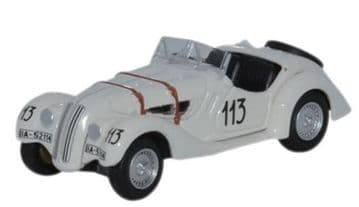 76BM28001 BMW 328 Mille Miglia 1938 Fane/James