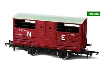 76CAT002B LNER Cattle Wagon E156266 ##Out Of Stock##