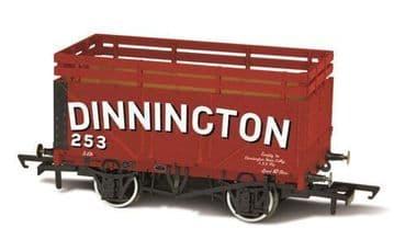 76CK7001 Coke Wagon 7 plank Dinnington 254 with 2 Coke Rails