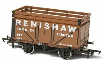 76CK7004 7 Plank Mineral Wagon - Renishaw Iron Co ##Out Of Stock## 917 (2 Coke Rails)