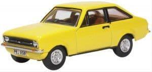 76ESC002 Ford Escort Mk2 Signal Yellow