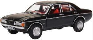 76FC006 Ford Consul Granada Black