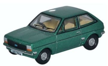 76FF005 Ford Fiesta Mk1 Jade Green ##Out Of Stock##